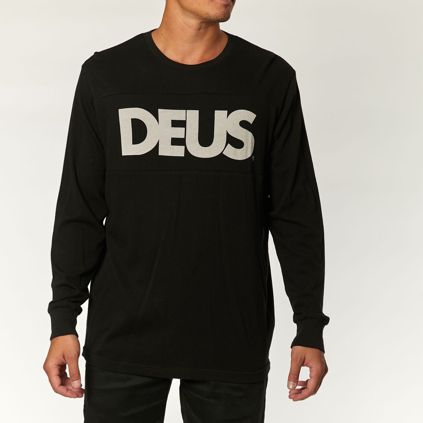 Deus All Caps Moto Jersey Black