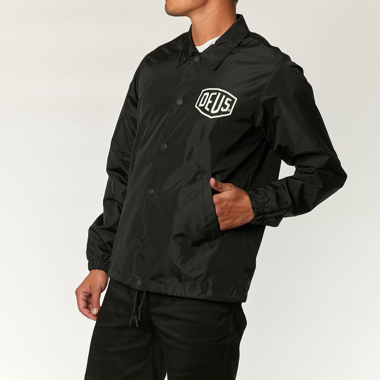 Deus Camperdown Coach Jacket Black