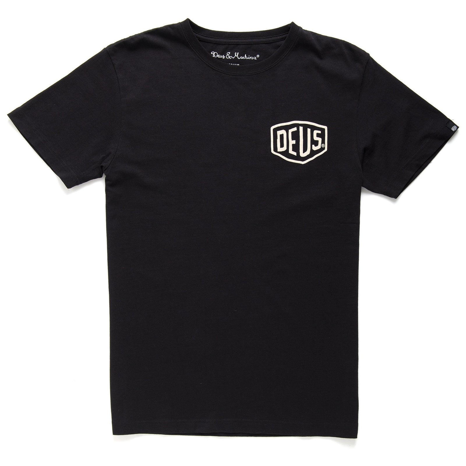 Deus Camperdown Address T-Shirt - Black