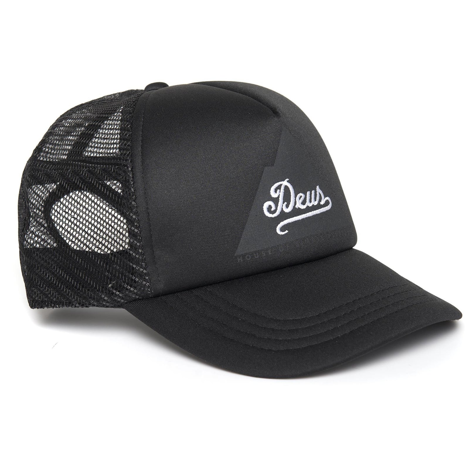 Deus Peak Trucker Black