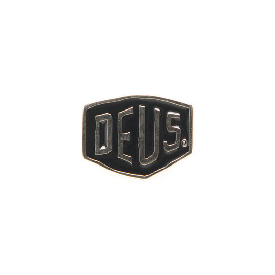 Deus Shield Pin Black