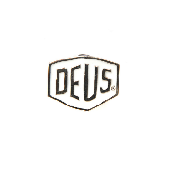 Deus Shield Pin White