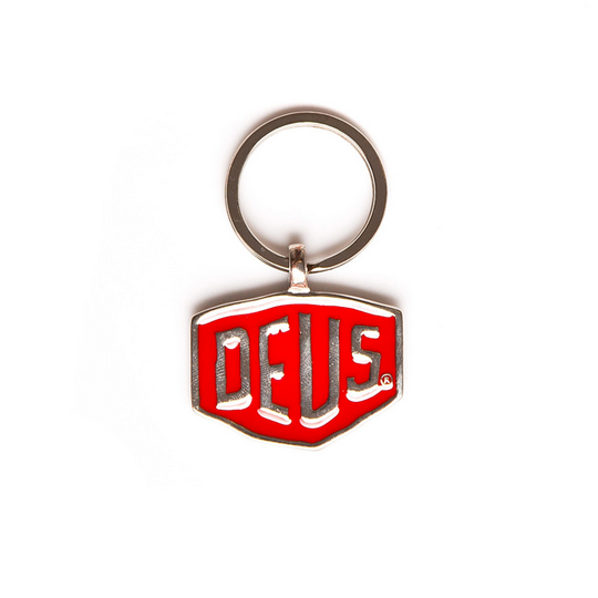 Deus Shield Keyring NR2 Red
