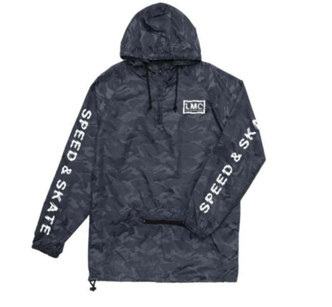 Loser Machine Authority Anorak Black Camo