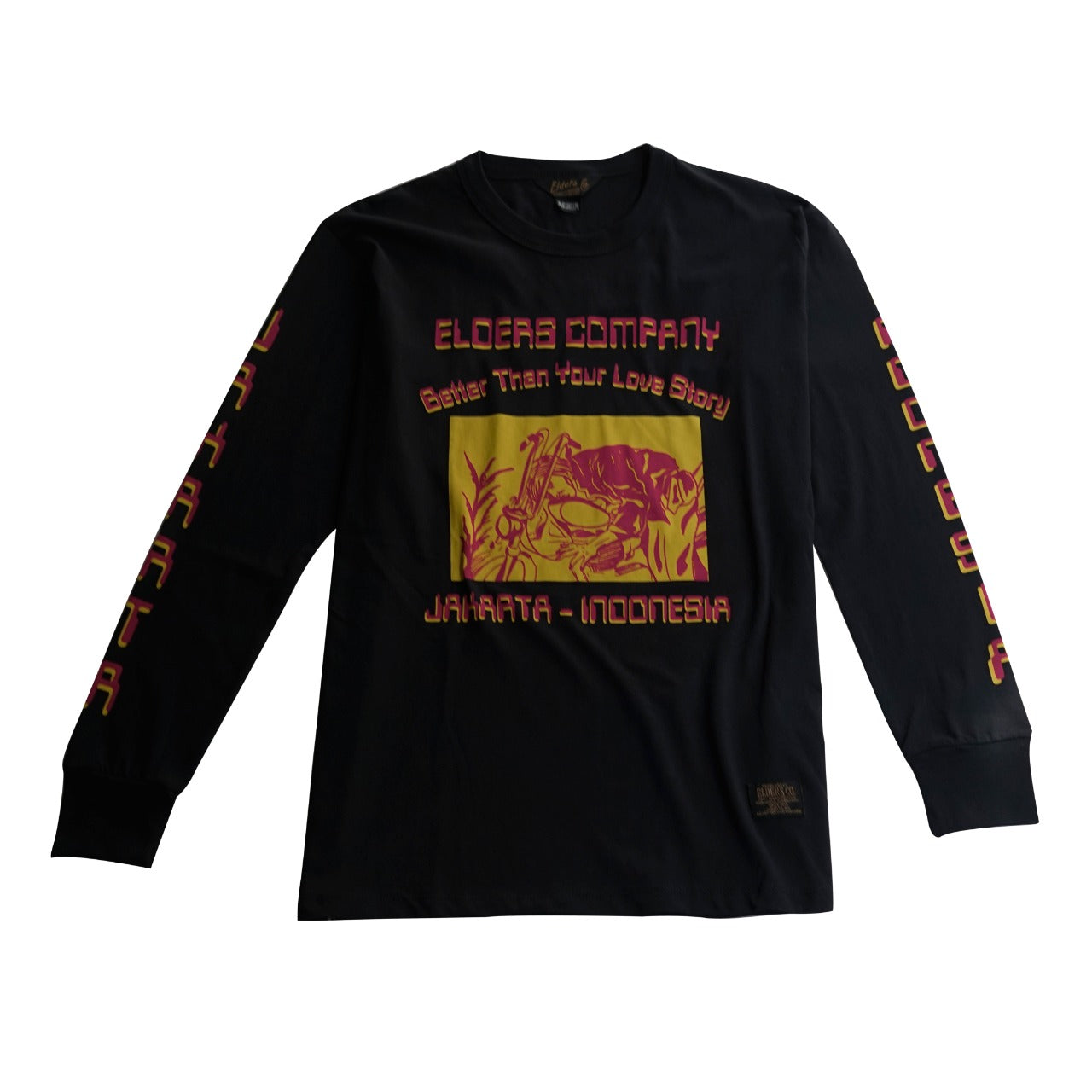 Elders Love Story Long Sleeve T-Shirt Black