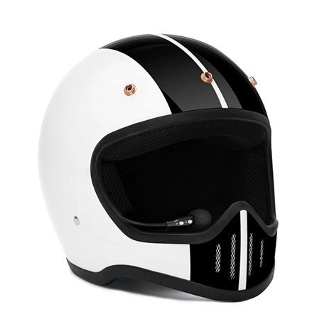 Zulu SR-1 Viper Rally White Bluetooth