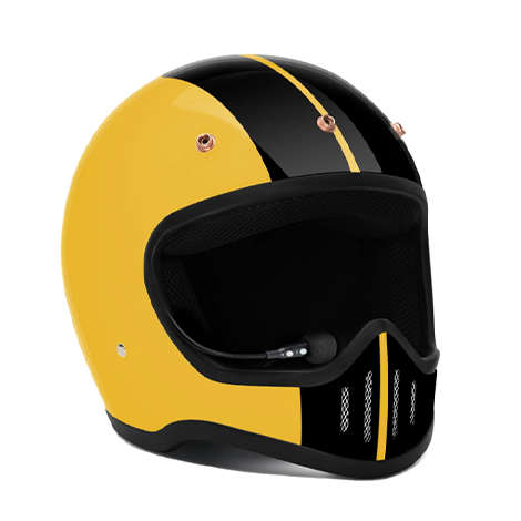 Zulu SR-1 Viper Rally Yellow Bluetooth