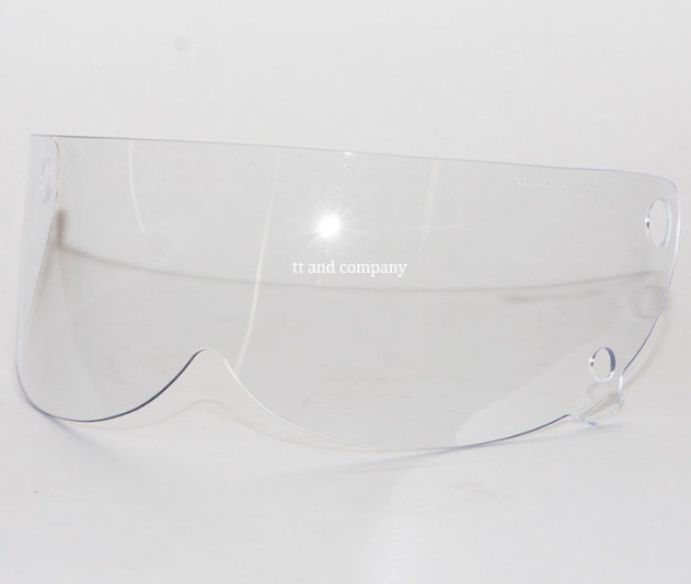 TT&Co Mad Massk Shield Visor Clear