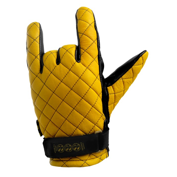 EC X Mooneyes Gloves Yellow
