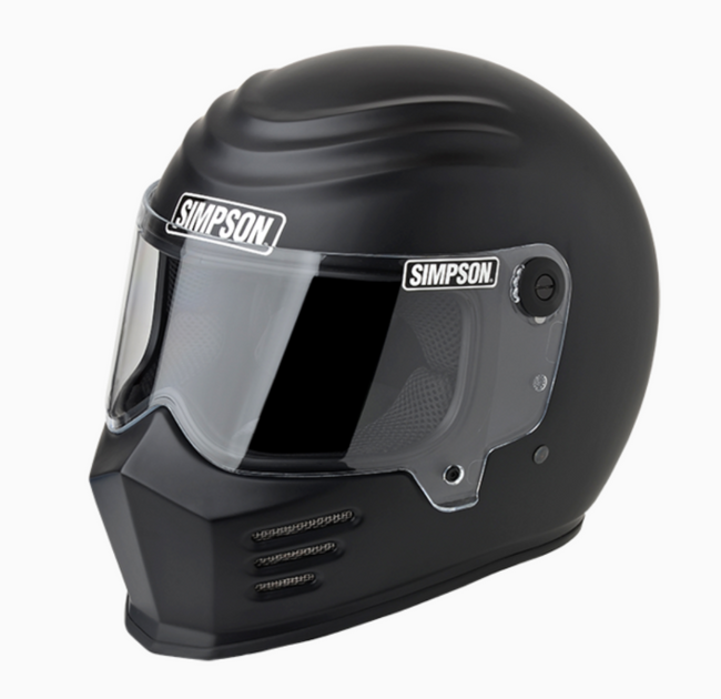Simpson Outlaw Bandit Flat Black