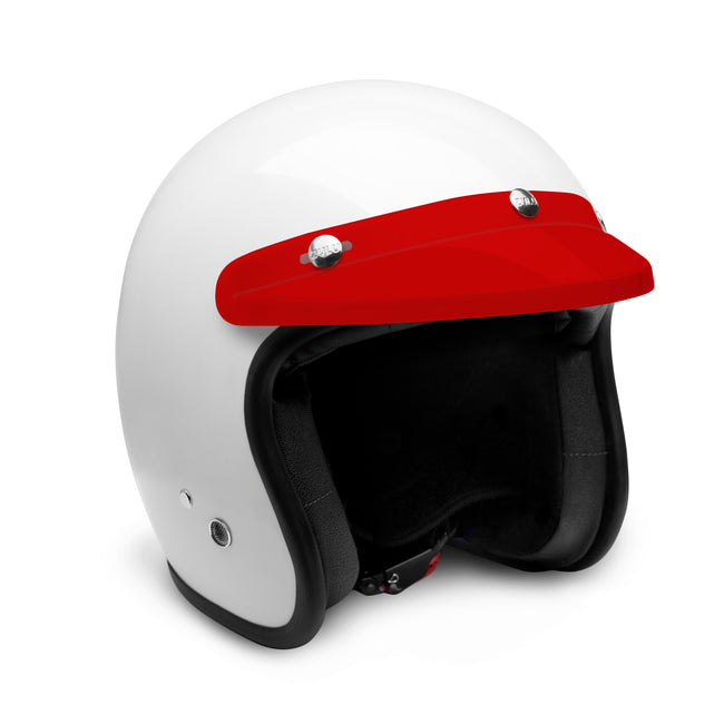 Zulu 3 Snap Visor Red