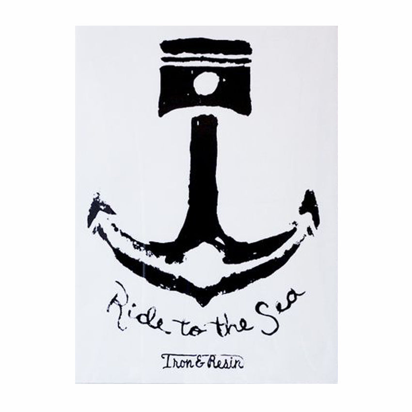 Iron and Resin Anchor Poster