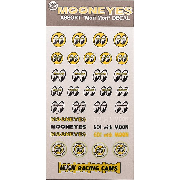 MOONEYES ASSORTMENT Decals