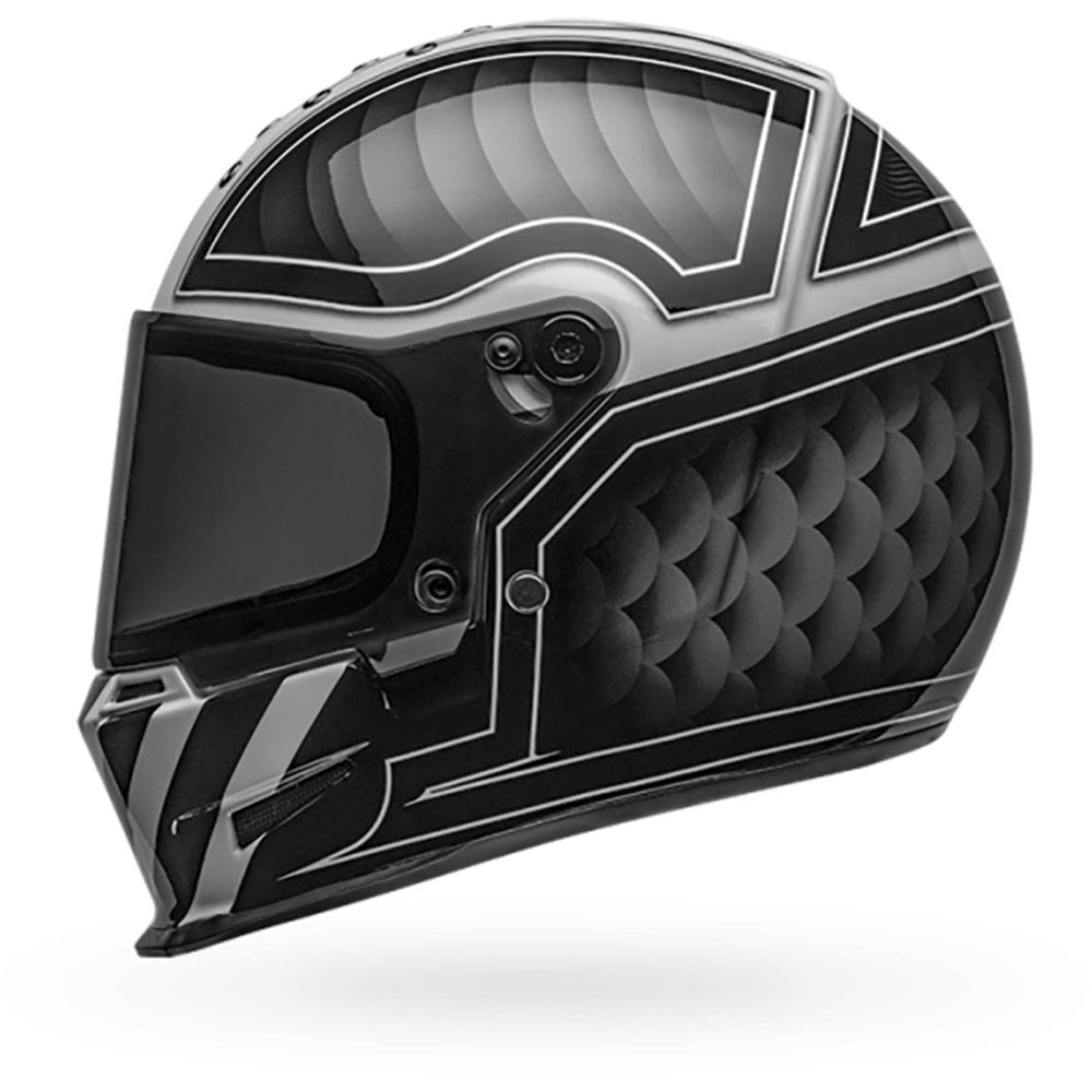 Bell Eliminator Outlaw Helmet Black/White