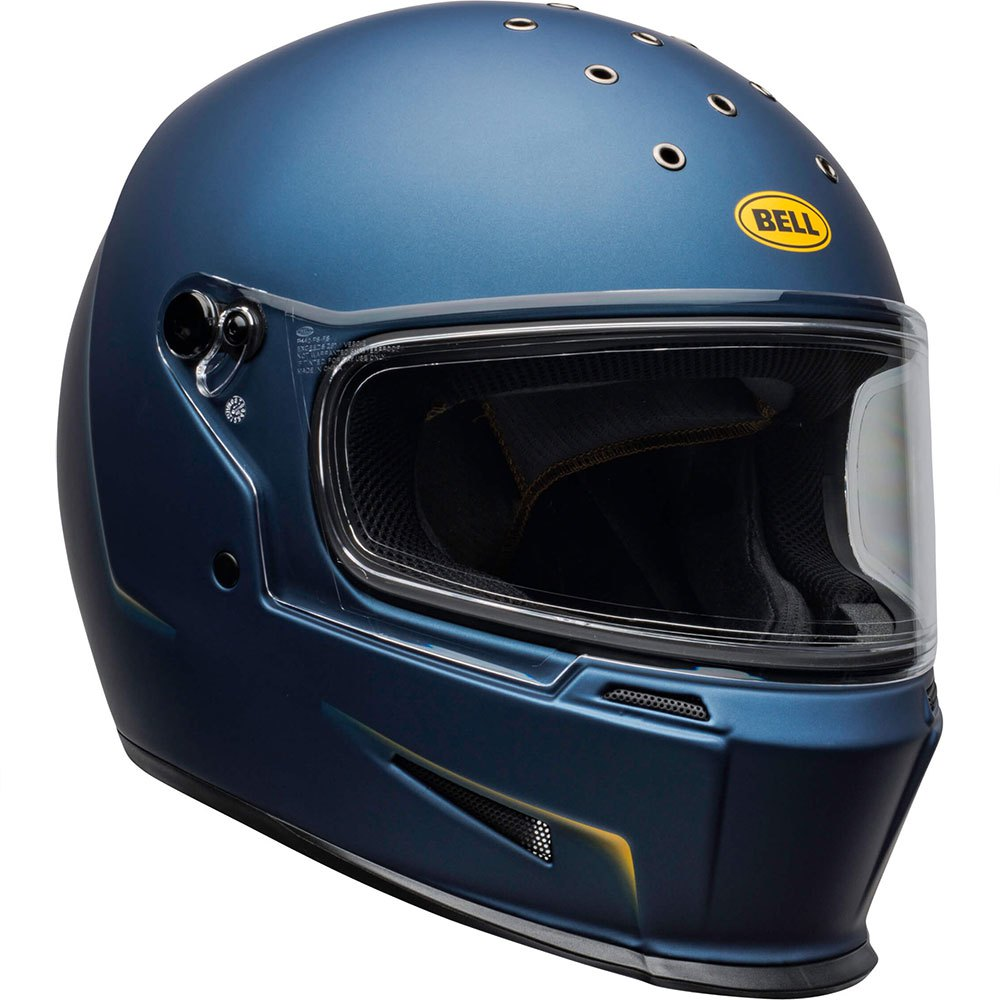 Bell Eliminator Vanish Matte Blue Yellow