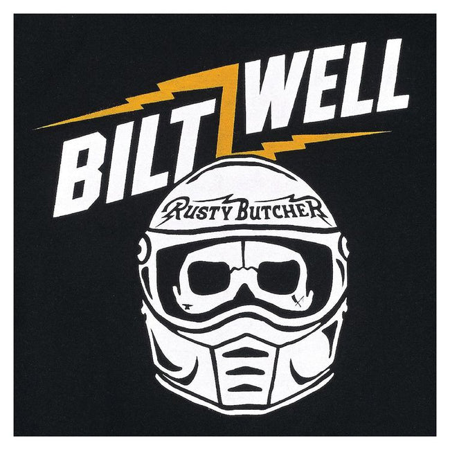 Biltwell Lane Splitter Rusty Butcher T-Shirt Black