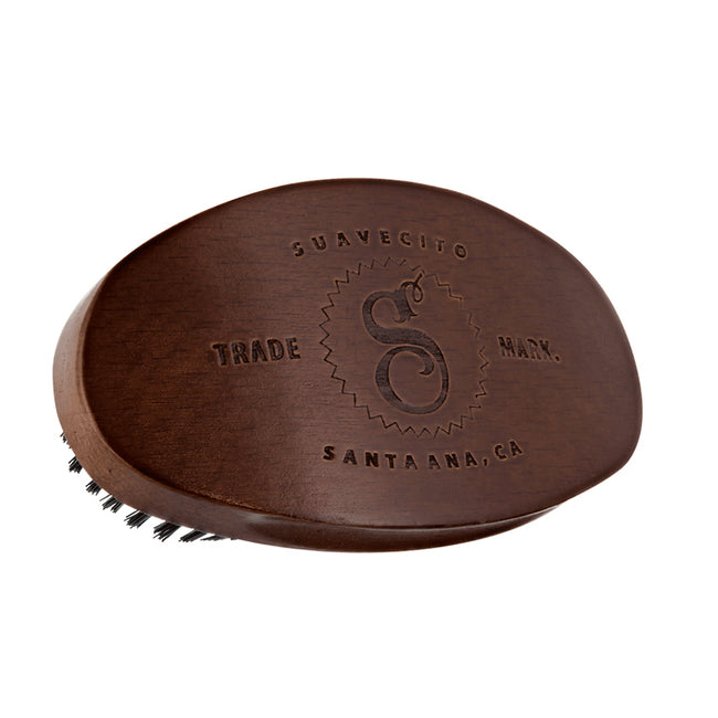Suavecito Premium Blends Synthetic Beard Brush Cherry Wood
