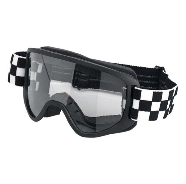 Biltwell Moto 2.0 Goggle Checkers Black/White