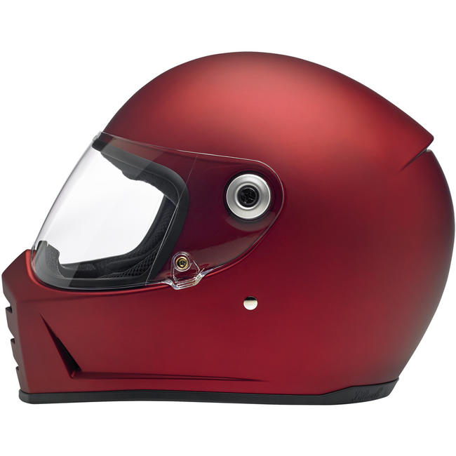 Biltwell Lane Splitter Helmet Flat Red