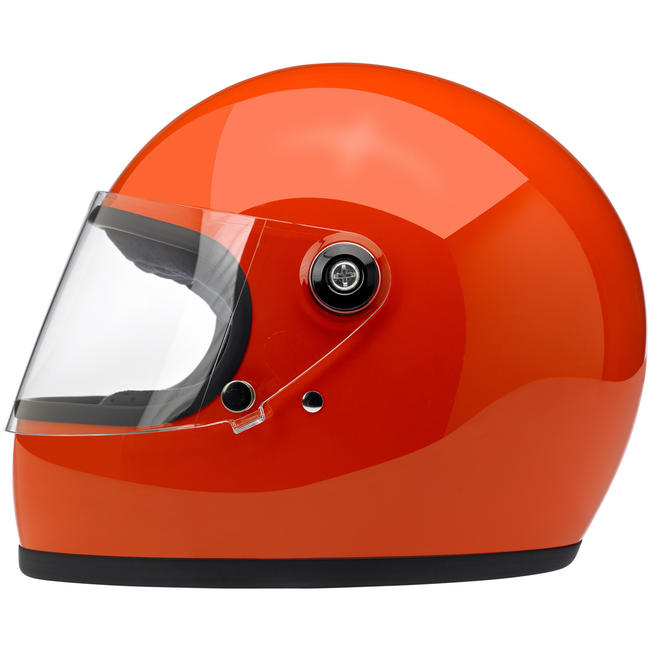 Biltwell Gringo S ECE Helmet Gloss Hazard Orange