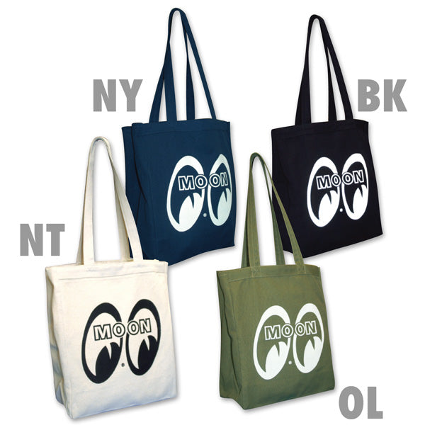 MOON Canvas Tote Bag