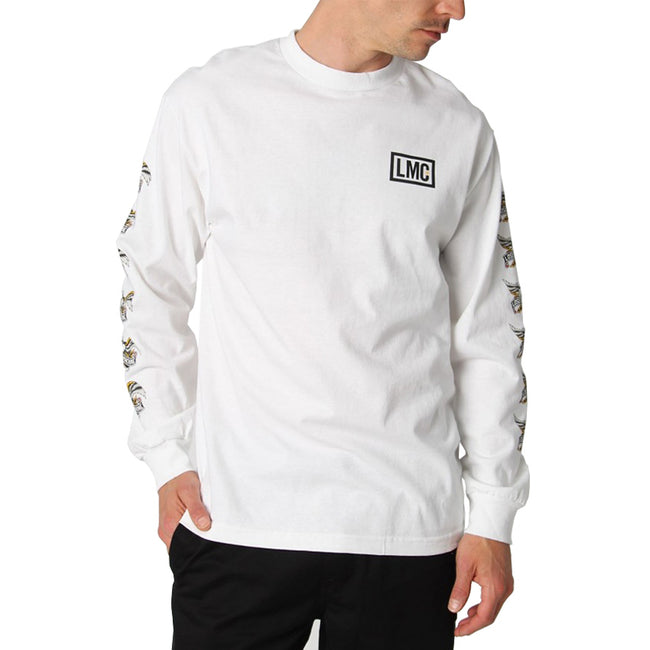 Loser Machine Glory Bound Long Sleeve White Tee