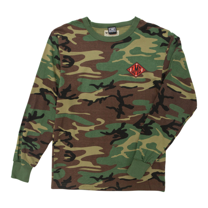 Loser Machine Guardian Custom Woodland Camo Long Sleeve Tee
