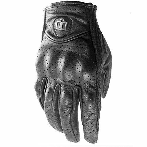 Icon Pursuit Gloves Black Perforated
