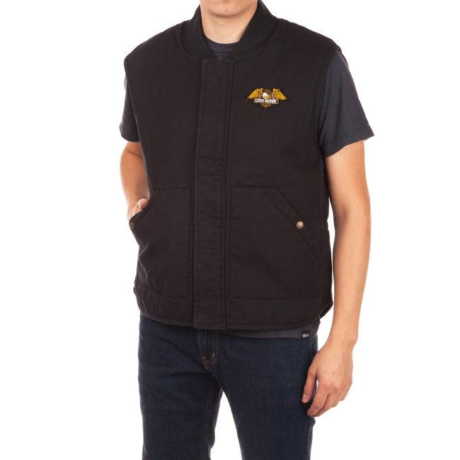 Loser Machine Condor ll Vest Dusty Black