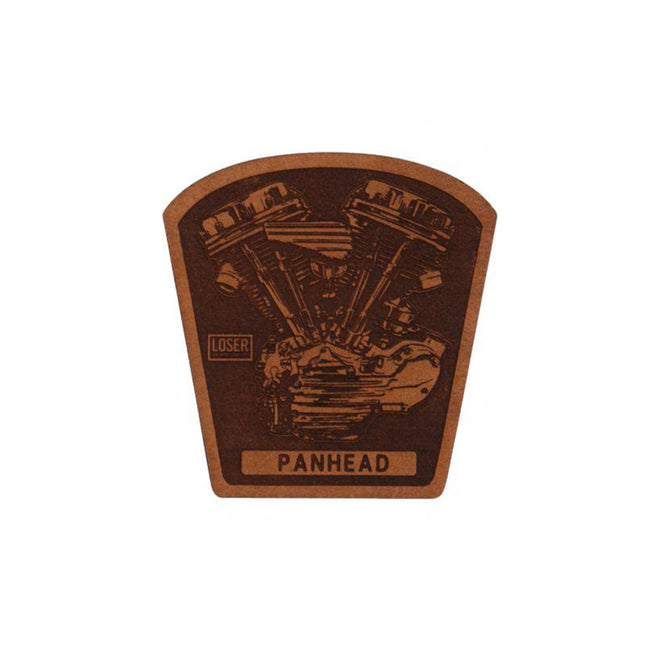 Loser Machine Leather Patch - Panhead