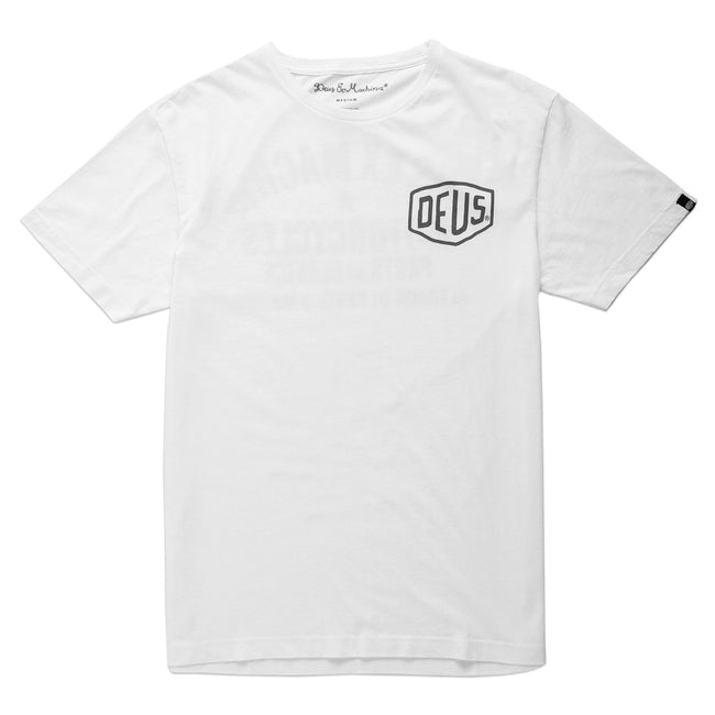 Deus Milano Address T-Shirt White