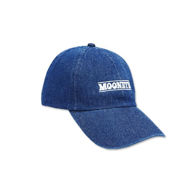 Mooneyes Denim Cap (Blue Denim)