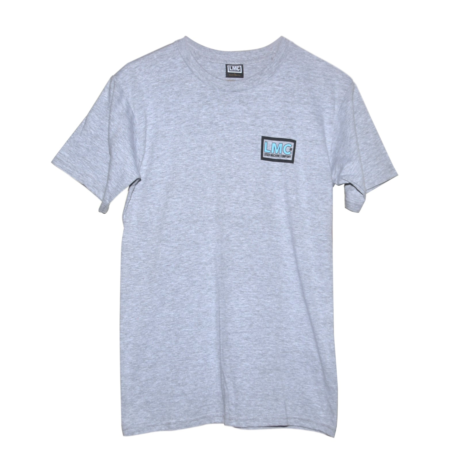 Loser Machine Cell Phone T-Shirt Heather Grey