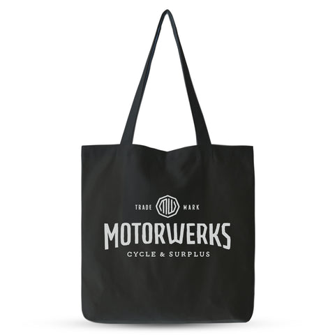 Motorwerks Bar & Shield Cap Black