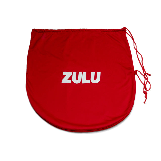 Zulu Lycra Helmet Bag Red