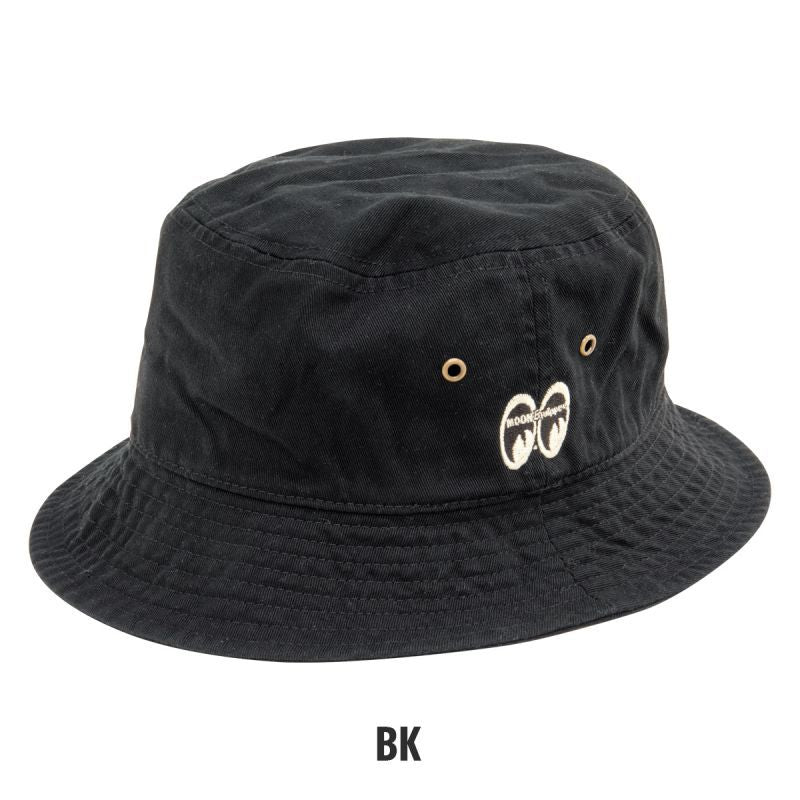 MOON Equipped Bucket Hat Black