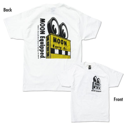 MOON Eyeball Honmoku - Yokohama T-shirt White