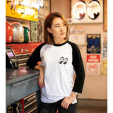 MOON Equipped 3/4 Sleeve T-Shirt