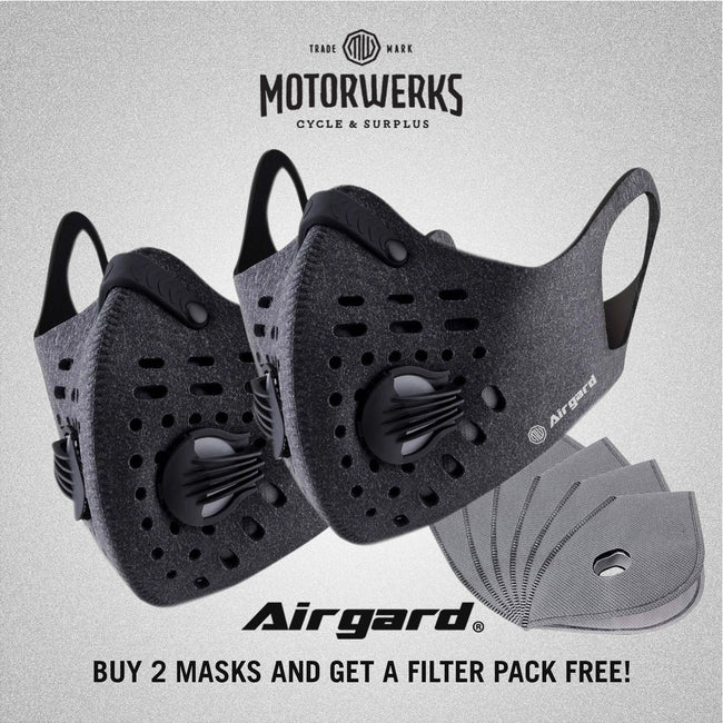 Airgard Urban Face Mask + Free Filter Bundle