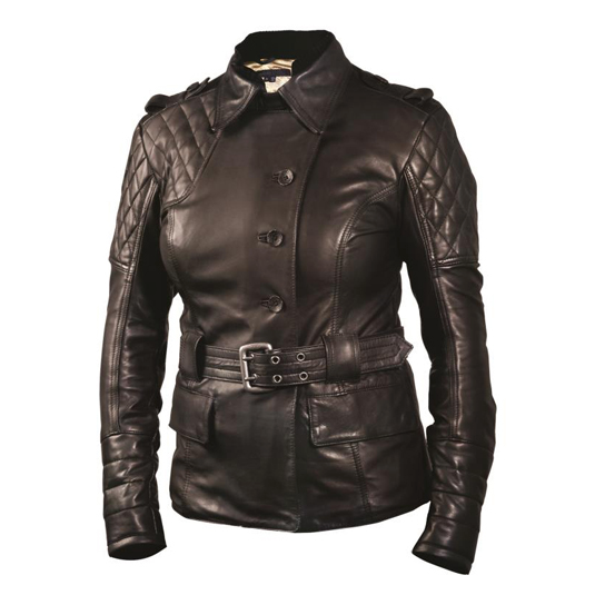 RSD Women's Oxford Leather Jacket Black