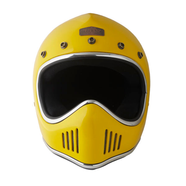 Elders Raid Light Helmet Gloss Yellow