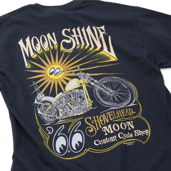 MCCS MOON Shine T-shirt Black