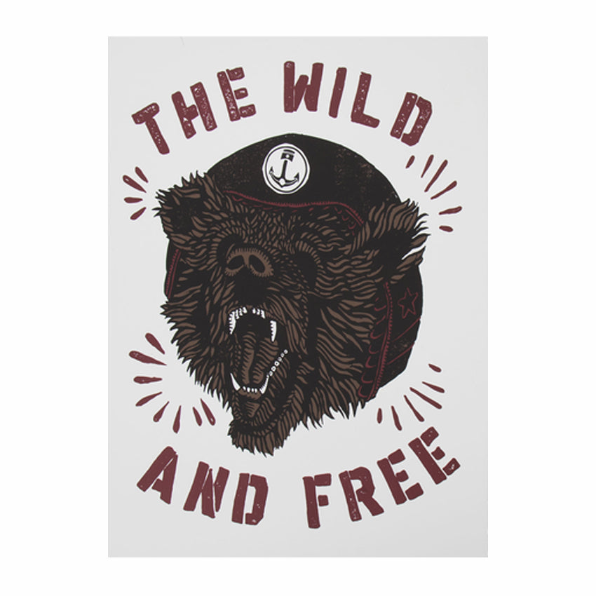 Iron and Resin The Wild and Free Poster