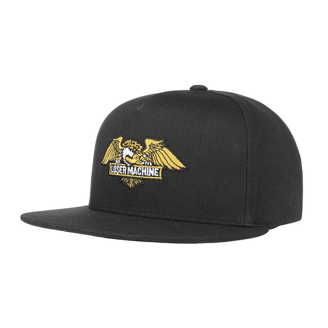 Loser Machine Wings Snapback Black