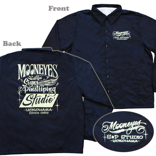 MOON Signs & Pinstriping Studio Windbreaker Black