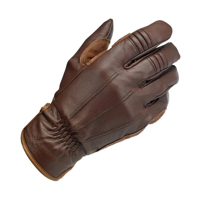 Biltwell Work Gloves Chocolate