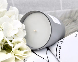 Christie Collection Grey Candle