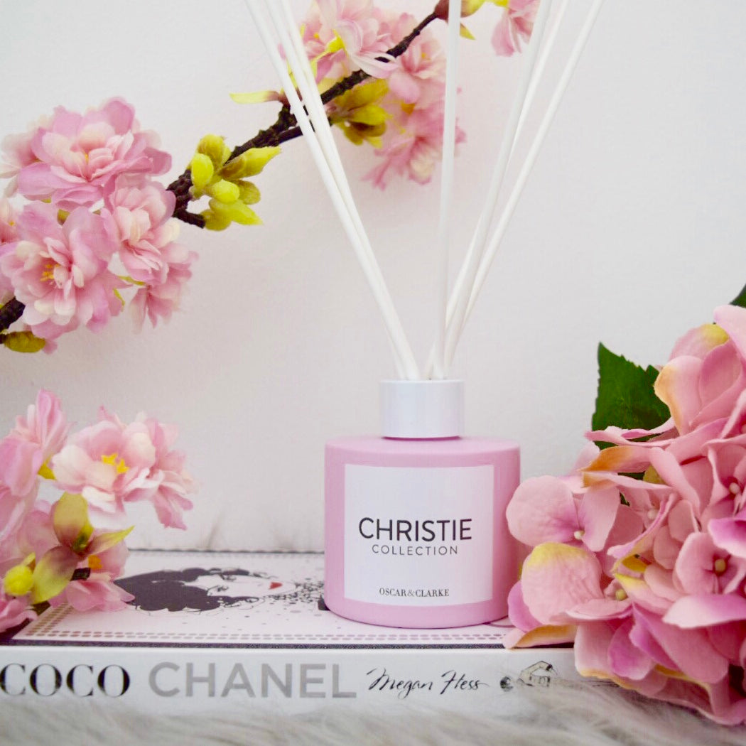 Christie Collection Matte Pink Reed Diffuser