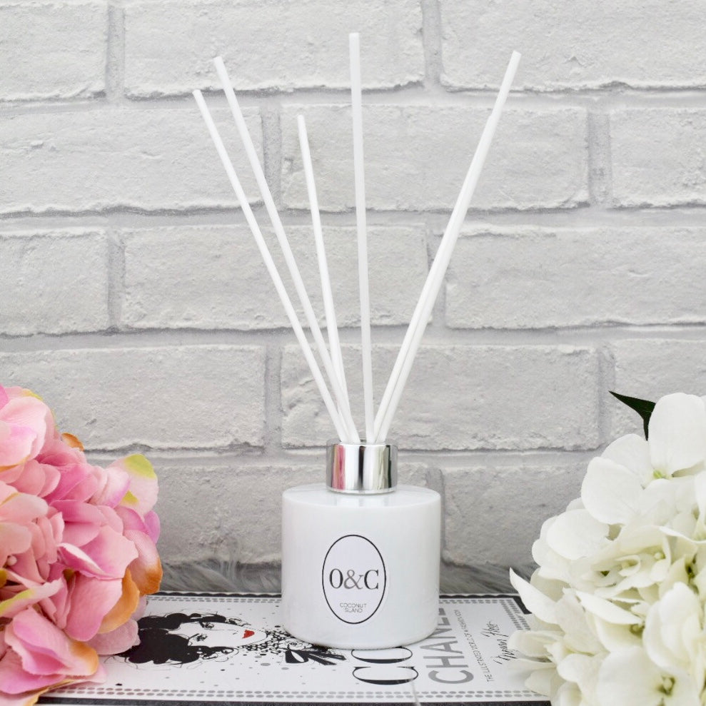 100ml Orchid Noir Reed Diffuser