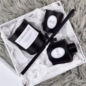 O&C Luxury Matte Black Gift Set